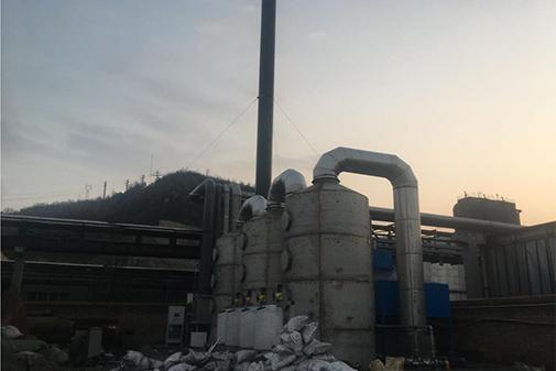 山西大土河焦化一厂、二厂两套系统