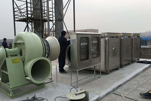 废气治理设备安装